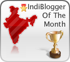 indiblogger_of_the_month